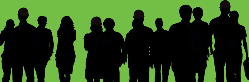 Page header image - shadows of workers