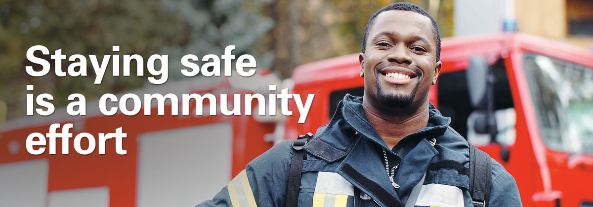 Staying safe is a community effort
