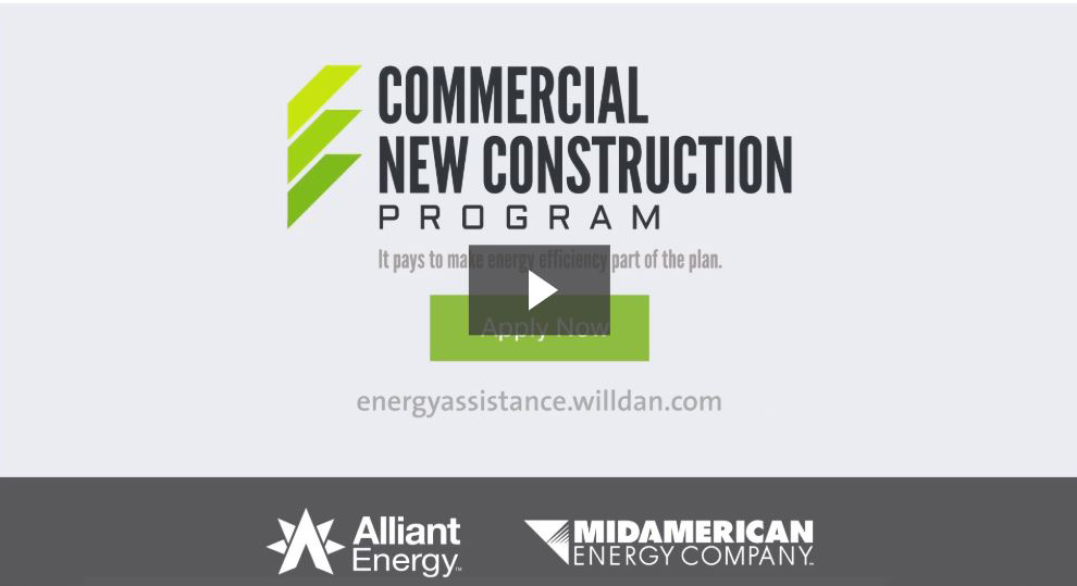 Commercial New Construction process video screenshot - click to play video